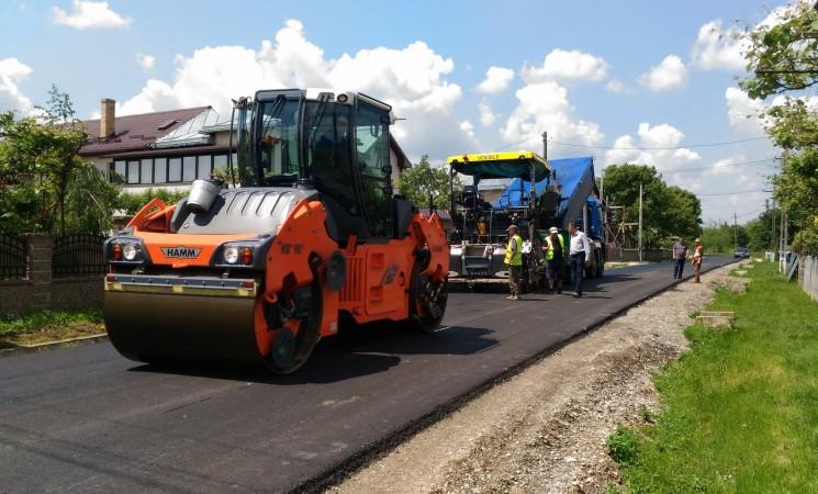 Trei drumuri modernizate cu un proiect de 6,8 milioane de lei